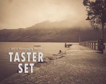 Taster Set Lightroom Presets, portrait, landscape, film, color, black, white, creative, travel, blogger, lightroom, presets