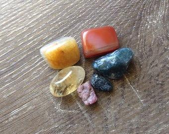 Crystal Healing Prosperity & Abundance Kit