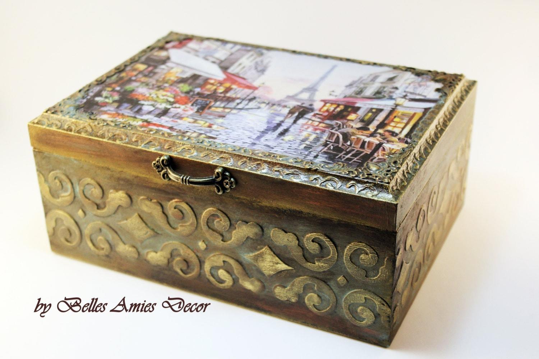 Teebox paris schmuck box einweihungsparty geschenk nach - Einweihungsparty geschenk ...
