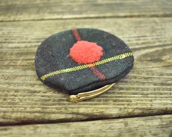 Tartan Plaid Wool Coin Purse