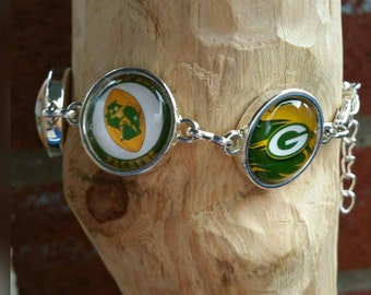 Green Bay Packers Stadium Bracelet (you choice of 6 image's )