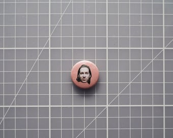 Wes Anderson Button Badge Pin