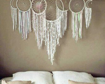 Sweet Dreams set of 5 - NO HANGING STICK wall bedroom decor