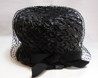 Vintage 1950s or 1960s Miss Eileen Hat