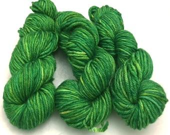 Into Oz, tonal, hand dyed yarn, Merino wool, yarn, 100 grams, Bulky, Superwash