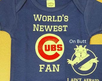 World's Newest Cubs Fan Bodysuit
