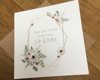 Hugs and kisses to the new Mr & Mrs