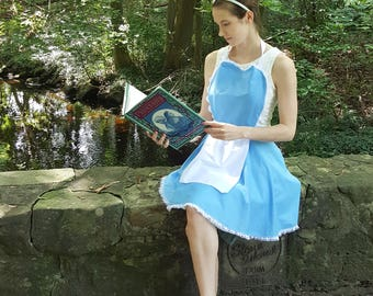 Belle Beauty and the Beast Dress up Apron