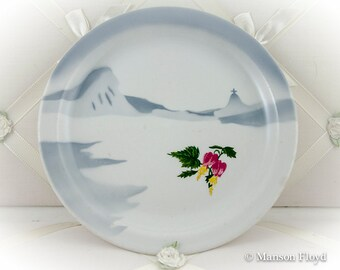 "Moore-McCormack Cruise Ship Lines ""RIO"" pattern plate ca 1950"