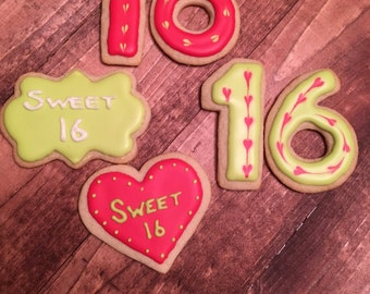 Sweet 16 Cookies Dozen