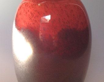 Red Urn Vase