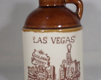 Souvenir Las Vegas small jug, empty of course