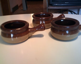 vintage soup bowls new 3 in lot