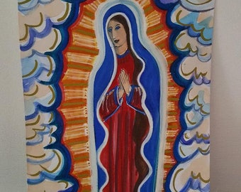 Our Lady of Guadalupe - Folk Art