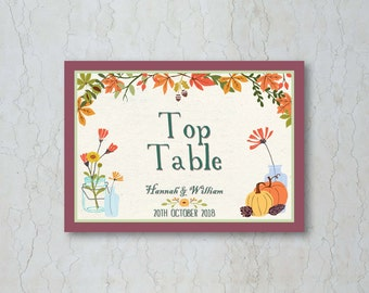 Fall Table Name