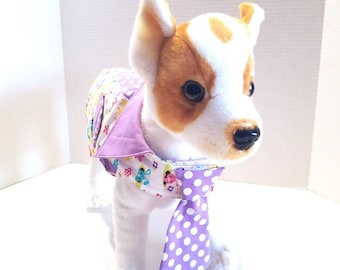 Easter Dog Vest with Tie/Easter Pet Vest/Easter Dog Vest.