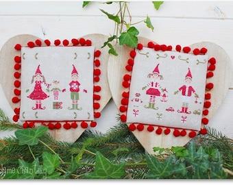 Christmas vith Elves I - Cross stitch Chart
