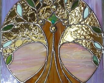 "12"" X 12"" Stained Glass ""Enthusiasm"" Mandala Pattern PDF B&W Digital Download"
