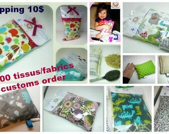 heating bag, heating pad, confort bag, choose your fabric!
