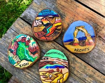 National Park Coasters - Set of 4