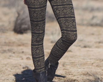 Spectrum Legging- Hemp & Organic Cotton