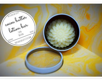 Organic Cocoa Butter Lotion Bar