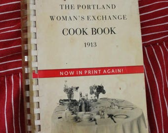 1913 Portland Cookbook Reprint c1987