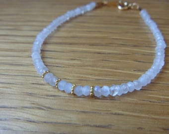 Bracelet gemstone moonstone
