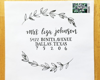 Wedding Calligraphy - Custom Hand Drawn Lettering and Styles: Sage