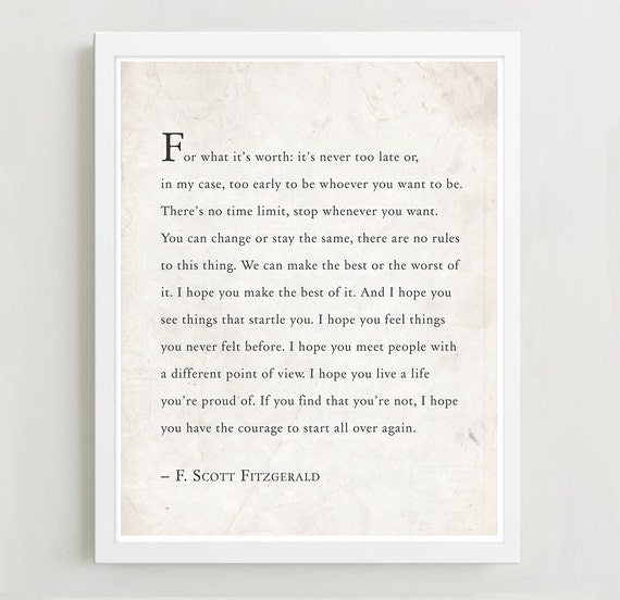 TOP 25 QUOTES BY F SCOTT FITZGERALD of 757  AZ Quotes