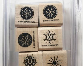 "Stampin Up ""Snow Flurries"" 2006"