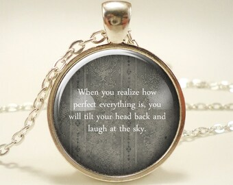 Personalized Quote Necklace, Custom Jewelry, Gift Idea (1806S1IN)