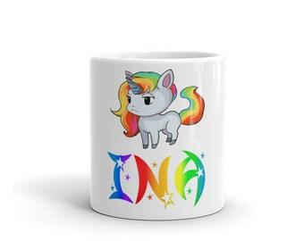 Ina Unicorn Mug