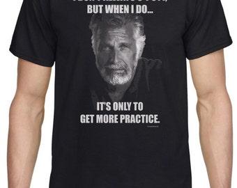 Most Interesting Man t-shirt - golf humor - golf t-shirt - gift for golfer - gift for him