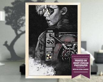 Ghostbusters, fanart, ghostbusters movie, ghostbusters print, best posters, ghostbusters poster, ghostbusters art, cool art