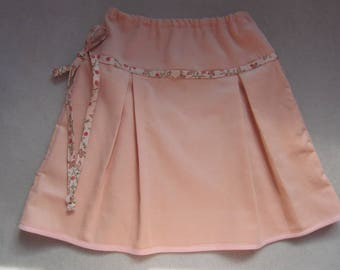 Peach girl corduroy skirt