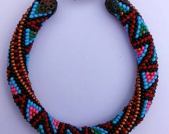 Bracelet Bead crochet - Bead Crochet Rope