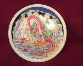 The Dragon's Nest by Joy Mulholland Myth and Magic Collection Plate Number 4