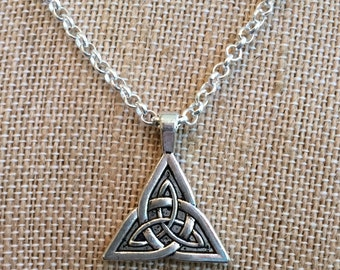Celtic Silver Necklace