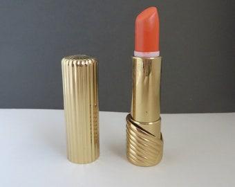 Elizabeth Arden Lipstick, Vintage Lipstick, Luxury Lipstick, Marigold, 252, Collectors Cosmetics