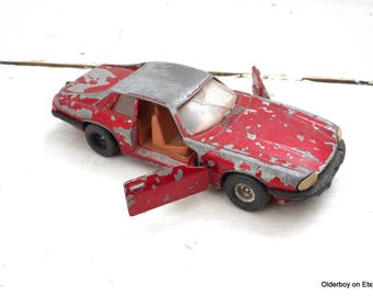 Vtg CORGI JAGUAR XJS Corgi Toys vtg car model die-cast jaguar die-cast jaguar car model collectible jaguar vintage jaguar corgi car D8/1378