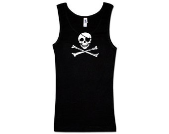 Ladies Tank Top - Classic Jolly Roger