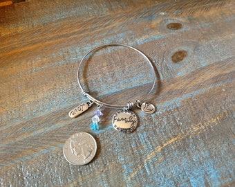 Love & Family Charm Bracelet