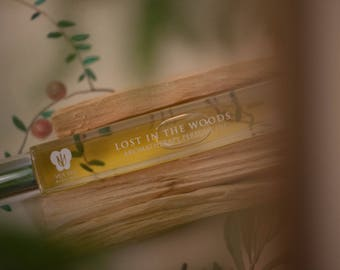 LOST In The WOODS - Aromatherapy Perfume Oil