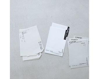 Yohaku Original Japanese Paper Bundle Memo - Black M-03