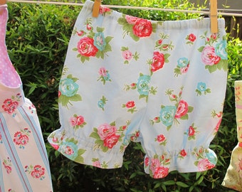Bloomers Pattern - Baby and Toddler Girl Pantaloons Pattern - PDF - Easy Sew Baby Bloomers
