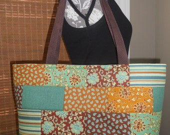 """40% OFF SUMMER SALE...The """"Emma"""" Tote - Quilted Tote Bag"""