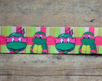 Pink Ninja Turtle Ribbon