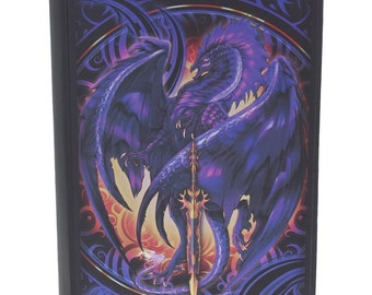 Nether Blade Journal, Blue Dragon, Notebook, Red Dragon  Notebook, Game night, Dragon Stationary, Magic, Journal, Dungeons and Dragons