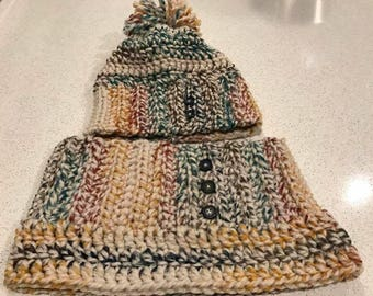 Custom Toques and scarf